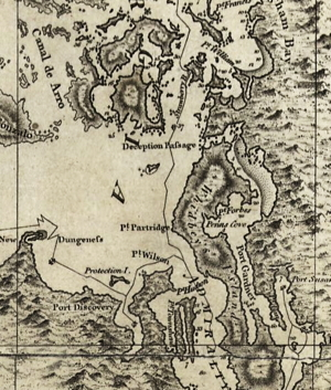 Vancouver Map (1798)